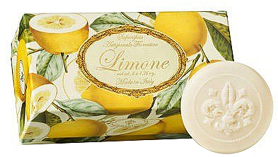 Naturseifen Geschenkset 6 St. - Saponificio Artigianale Fiorentino Lemon (6x50g) — Bild N3
