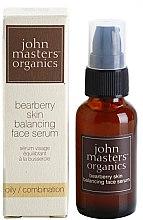 Düfte, Parfümerie und Kosmetik Gesichtsserum für fettige Haut - John Masters Organics Bearberry Oily Skin Balancing Face Serum