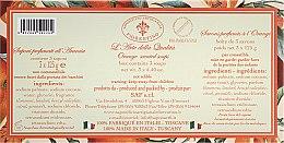 Naturseifen Geschenkset 3 St. - Saponificio Artigianale Fiorentino Orange (3x125g) — Bild N3