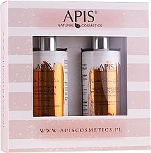Düfte, Parfümerie und Kosmetik Körperpflegeset - Apis Professional Exotic Home Care (Körperöl 300ml + Duschgel 300ml)