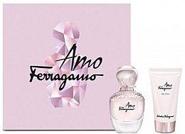 Düfte, Parfümerie und Kosmetik Salvatore Ferragamo Amo - Duftset (Eau de Parfum 50ml + Körperlotion 100ml)