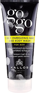 2-in-1 Shampoo & Duschgel für Männer - Kallos Cosmetics Go-Go 2-in-1 Energizing Hair And Body Wash For Men — Bild N1