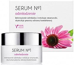 Düfte, Parfümerie und Kosmetik Verjüngendes Gesichtsserum - Organic Life Dermocosmetics Serum №1 Rejuvenation