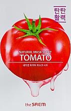 Düfte, Parfümerie und Kosmetik Tuchmaske für das Gesicht mit Tomatenextrakt - The Saem Natural Tomato Mask Sheet