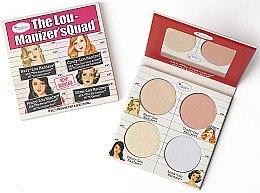Düfte, Parfümerie und Kosmetik Highlighter-Palette - theBalm The Lou Manizer'sQuad