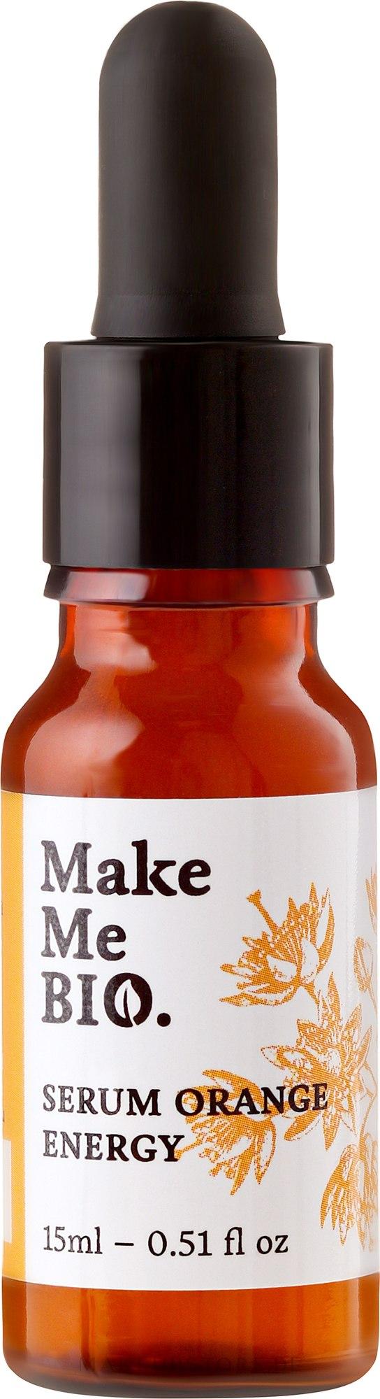 Gesichtsserum - Make Me Bio Serum Orange Energy — Bild 15 ml