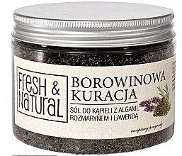 Düfte, Parfümerie und Kosmetik Badesalz mit Algen, Rosmarin und Lavendel zur Schlammbehandlung - Fresh & Natural