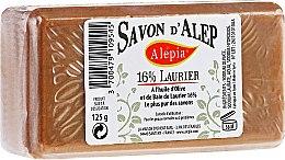 Düfte, Parfümerie und Kosmetik Aleppo-Seife mit 16% Lorbeeröl - Alepia Soap 16% Laurel