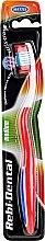 Düfte, Parfümerie und Kosmetik Zahnbürste mittel Rebi-Dental M42 rot-weiß - Mattes
