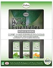 Düfte, Parfümerie und Kosmetik Set mit ätherischen Ölen - Galeo To Help You Work Gift Set (Ätherisches Öl 3x10ml)
