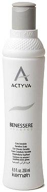 Shampoo für empfindliche Kopfhaut - Kemon Actyva Benessere Shampoo — Bild N1
