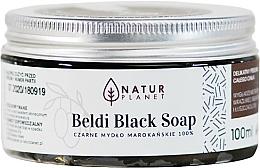 Schwarze marokkanische Seife - Natur Planet Moroccan Beldi Black Soap — Bild N3