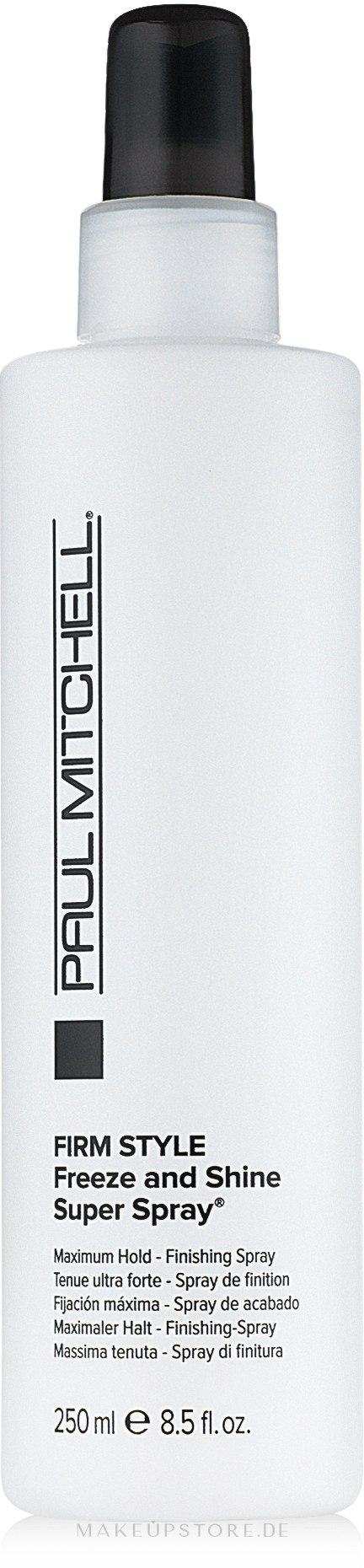 Haarspray Extra starker Halt - Paul Mitchell Firm Style Freeze & Shine Super Spray — Bild 250 ml