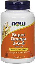Düfte, Parfümerie und Kosmetik Nahrungsergänzungsmittel Super Omega 3-6-9 1200 mg - Now Foods Super Omega 3-6-9 1200 mg