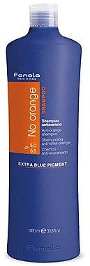 Farbneutralisierendes Shampoo für dunkel gefärbtes Haar - Fanola No Orange Extra Blue Pigment Shampoo — Bild N1