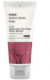 Regenerierende Creme-Maske für Hände und Nägel - Tolpa Dermo Mani Help S.O.S