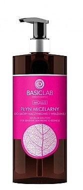 Mizellenwasser für gebrochene Kapillaren und empfindliche Haut - BasicLab Dermocosmetics Micellis — Bild N2