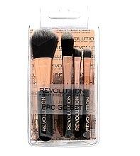 Düfte, Parfümerie und Kosmetik Make-up Pinselset 5-tlg. - Makeup Revolution Pro Go Mini Brush Set