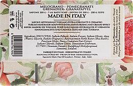 Granatapfel Seife - La Florentina Pomegranate Bath Soap — Bild N2