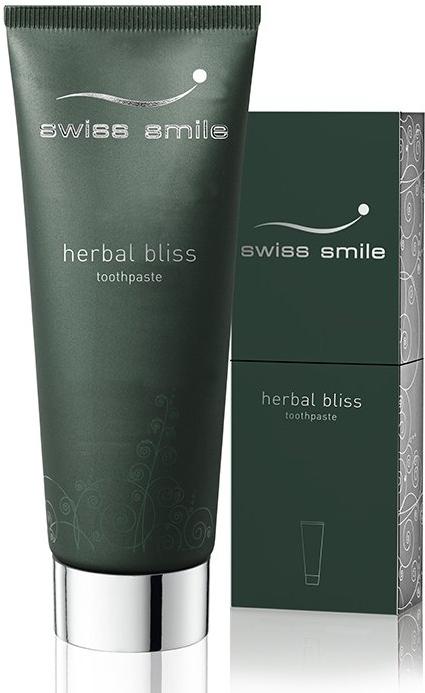 Regenerierende Zahnpasta mit Kräutern - Swiss Smile Herbal Bliss Toothpaste — Bild N1