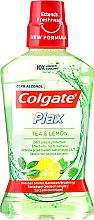 Düfte, Parfümerie und Kosmetik Mundwasser Tee und Zitrone - Colgate Plax Tea&Lemon