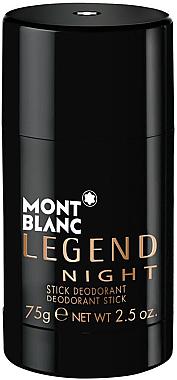 Montblanc Legend Night Stick - Parfümierter Deostick — Bild N1