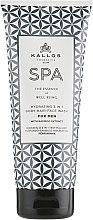 Düfte, Parfümerie und Kosmetik 3in1 Feuchtigkeitsspendendes Gelshampoo für Gesicht, Körper und Haar mit Bambusextrakt - Kallos Cosmetics Spa Hydrating 3in1 Body-Hair-Face Wash For Men