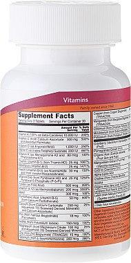 Multivitamine für die Frau mit Preiselbeere, Alpha-Liponsäure und Coenzym Q10 - Now Foods Eve Womans Multi — Bild N2