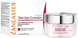 Düfte, Parfümerie und Kosmetik Anti-Aging Tagescreme SPF 15 - Lancaster Total Age Correction Anti-Aging Day Cream & Glow Amplifier