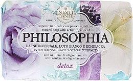 Düfte, Parfümerie und Kosmetik Naturseife Detox - Nesti Dante Natural Soap Winter Daphne, White Lotus & Echinacea Philosophia Collection