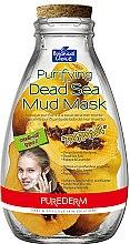 Düfte, Parfümerie und Kosmetik Tiefenreinigende Gesichtsmaske mit Schlamm aus dem Toten Meer - Purederm Purifying Dead Sea Mud Mask Papaya