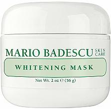 Düfte, Parfümerie und Kosmetik Aufhellende Gesichtsmaske mit Olivenblattextrakt und Vitamin E - Mario Badescu Whitening Face Mask