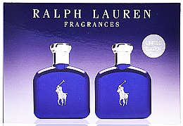 Düfte, Parfümerie und Kosmetik Ralph Lauren Polo Blue - Duftset (Eau de Toilette 40ml + Eau de Toilette 40ml)