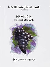 Aufhellende Tuchmaske für das Gesicht Frankreich - Calluna Medica France Whitening Biocellulose Facial Mask — Bild N2