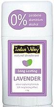 Düfte, Parfümerie und Kosmetik Natürlicher Deostick Lavendel - Indus Valley Lavender Deodorant Stick