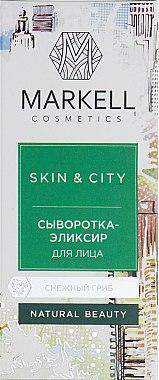 Aufbauendes und schützendes Gesichtsserum mit Schneepilz - Markell Cosmetics Skin&City — Bild N3