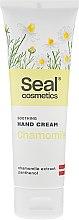 Düfte, Parfümerie und Kosmetik Aufweichende Handcreme mit Kamille und Panthenol - Seal Cosmetics Soothing Hand Cream