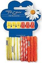 Düfte, Parfümerie und Kosmetik Haarschmuck-Set 28106 - Top Choice (Haarkrebse + Haargummis 6+12 St.)