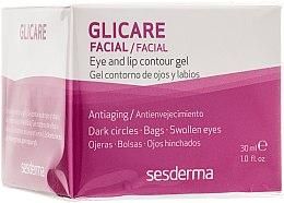 Anti-Aging Augen- und Lippenkonturgel - SesDerma Laboratories Glycare Eye and Lip Contour Gel — Bild N1