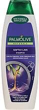 """Düfte, Parfümerie und Kosmetik Glättendes Shampoo für widerspenstiges Haar """"Kostbare Öle"""" - Palmolive Naturals Softly Liss Shampoo"""