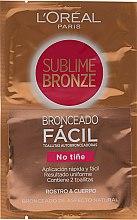 Selbstbräunungstücher für Gesicht und Körper - L'oreal Sublime Self-Tan Face And Body Wipes — Bild N1