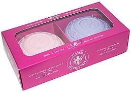 Düfte, Parfümerie und Kosmetik Seifenset Rose und Lavendel - Gori 1919 Floreal Rose & Lavender (Seife 2x150g)