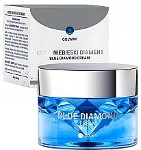 Düfte, Parfümerie und Kosmetik Luxuriöse Gesichtscreme mit Kollagen, Liposomen, Ceramiden und Coenzym Q10 - Colway Blue Diamond Cream