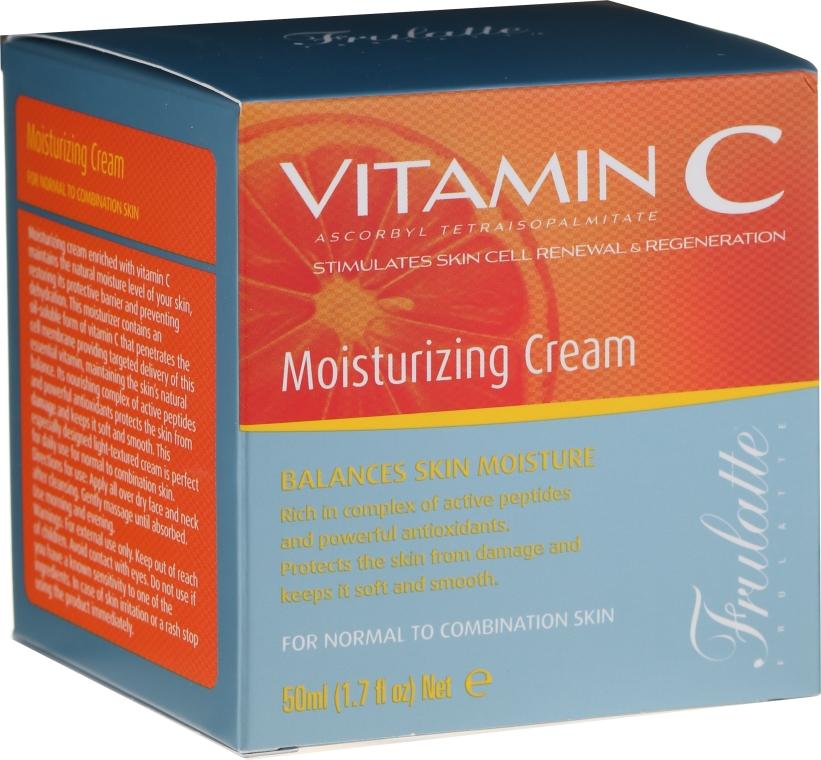 Feuchtigkeitsspendende Gesichtscreme mit Vitamin C - Frulatte Vitamin C Moisturizing Cream