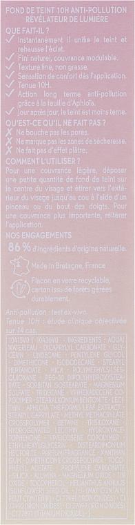 Schützende Foundation für einen frischen Teint und gegen Umwelteinflüsse - Yves Rocher — Bild N3