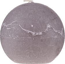 Düfte, Parfümerie und Kosmetik Naturkerze in Kugelform 12 cm grau - Ringa Grey Candle