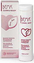 Düfte, Parfümerie und Kosmetik Ernährendes und entspannendes Duschgel - Bema Cosmetici Bema Love Bio Relaxing & Nourishing Shower Gel