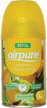 Düfte, Parfümerie und Kosmetik Raumerfrischer Zitrusenergie - Airpure Air-O-Matic Refill Citrus Zing