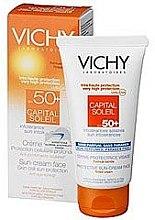 Düfte, Parfümerie und Kosmetik Sonnenschutzcreme für das Gesicht - Vichy CAPITAL SOLEIL SPF 50+ 50ml