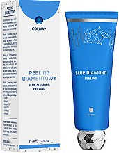 Düfte, Parfümerie und Kosmetik Diamanten-Peeling für das Gesicht - Colway Blue Diamond Peeling